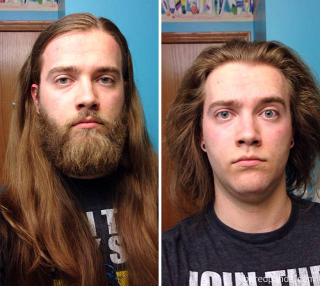 You're Just Not The Same Man After You Shave Your Beard Off