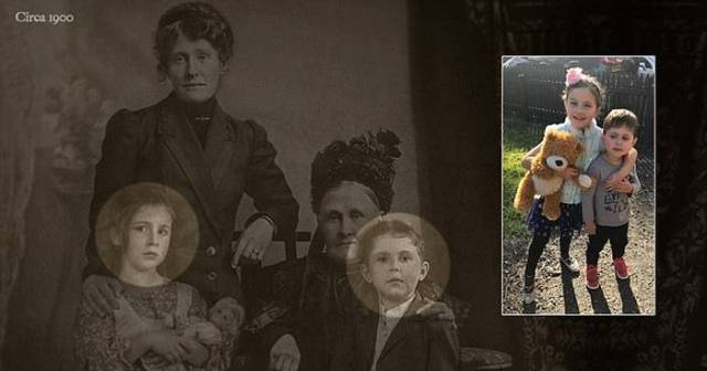 This Old Family Photo Has A Secret That's Impossible To Find Unless You Know It