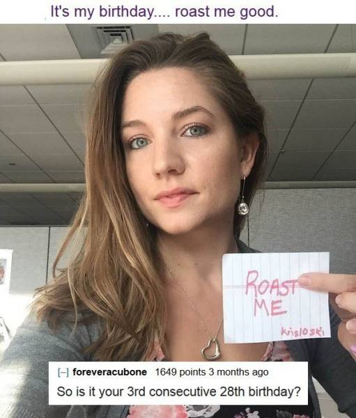 Reddit Is A Bunch Of Heartless People, When It Comes To Roasting