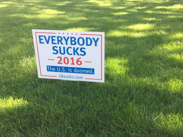 These Yard Signs Nail It Perfectly!