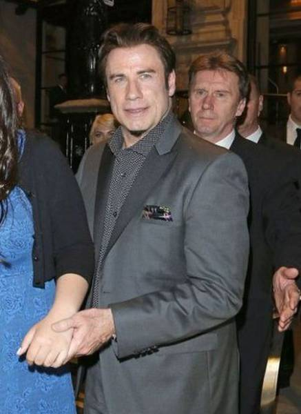 John Travolta Has Finally Showed His 17-Year-Old Daughter