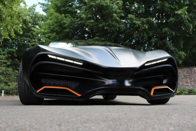 First Ukrainian Supercar Is Looking Very Promising So Far