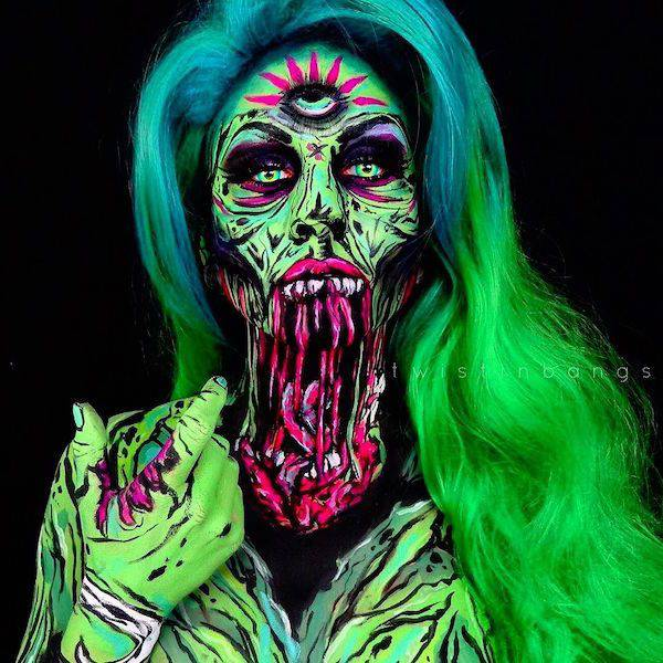 This Make-Up Artist's Works Are Terrifyingly Awesome!