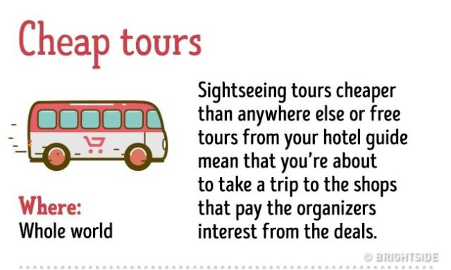 Tourists Are An Easy Prey For All Kinds Of Frauds Around The World