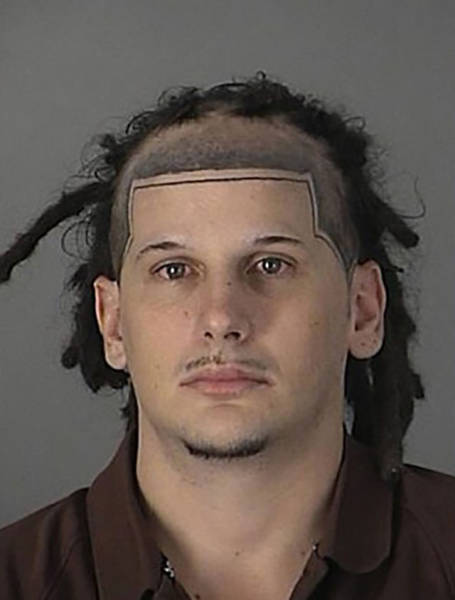 Mugshots Collect The Most Awkward Hairdos In Existence