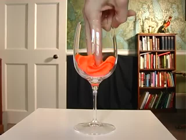 How Does The Glass Disappear?!