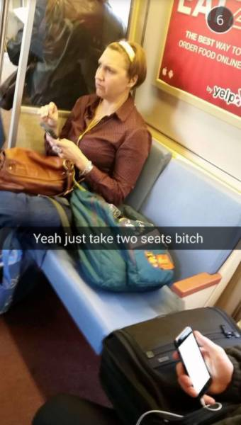 These Women Just Make You Wish You Never Take Public Transport Again