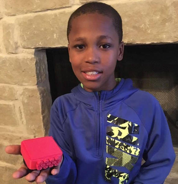 This Genius Little Boy Has Invented A Device To Save All Those Children Left In Overheated Cars