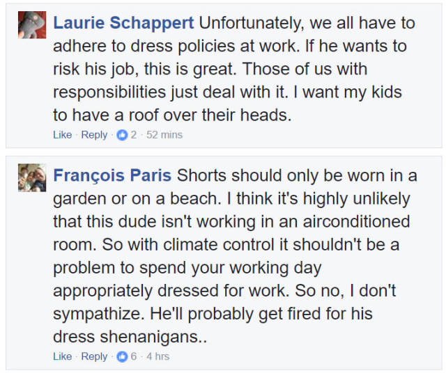This Guy Found The Trickiest And The Cutest Way To Go Around Dress Code At His Work