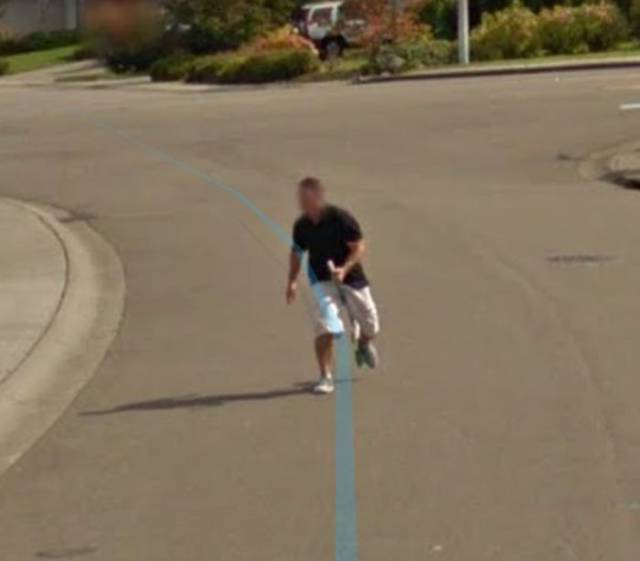 This Man-Witch Will Live Forever Thanks To Google Street View