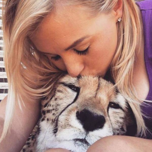 This Exotic Kitten Is Safe From Trophy Hunters Thanks To This Woman!
