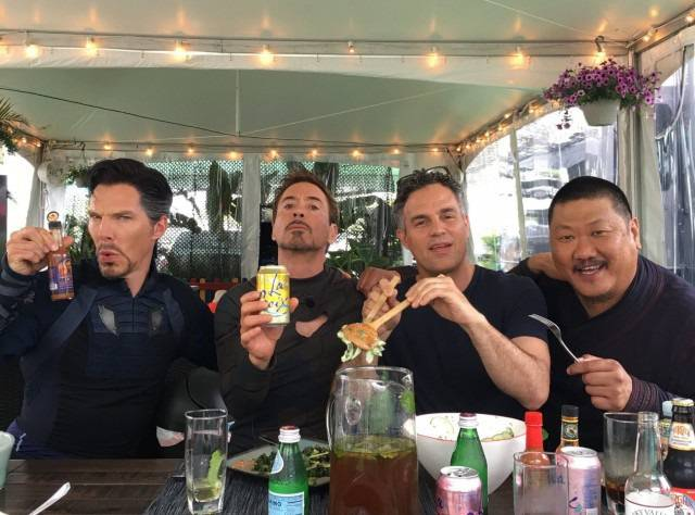 The Avengers: Infinity War Are Here Already – Although Only In The Form Of On-Set Photos