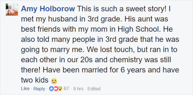 This Guy Promised To Marry His Preschool Crush When He Was 3 Years Old – Meets His Pledge 20 Years Later