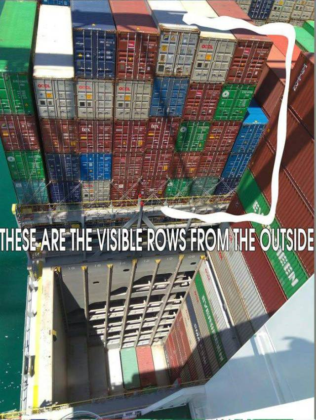 Container Ships Are Actually Hiding A Lot From Us!