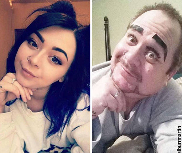 This Dad Isn't Only Perfect In Trolling His Daughter Online – He'd Even Beat Her Twofold In Followers
