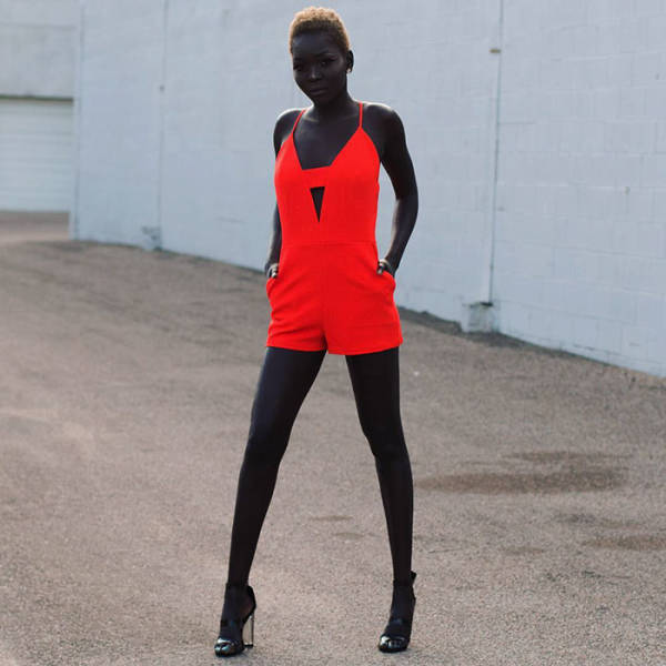 This South Sudanese Model Has The Darkest Beauty You Will Ever See
