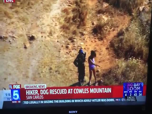 It Doesn't Happen Often That News Station Gets Trolled By Some Random Hiker
