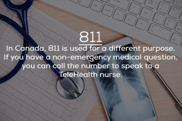 Actually, There's A Whole Lot Of *11 Numbers Apart From 911!