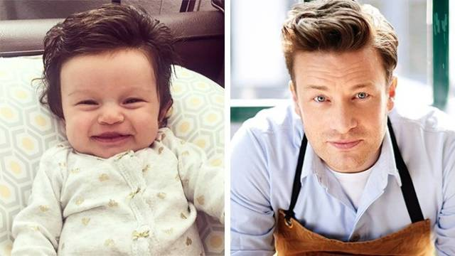 Some Babies Are The Perfect Copies Of Celebrities, Not Even Being Related To Them!