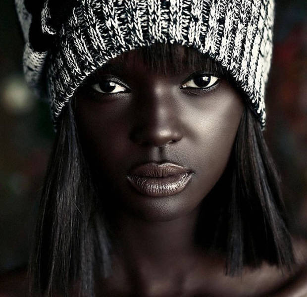 This Chocolate-Skinned Barbie-Like Model Returns To Take Over The Modelling World Against All Odds