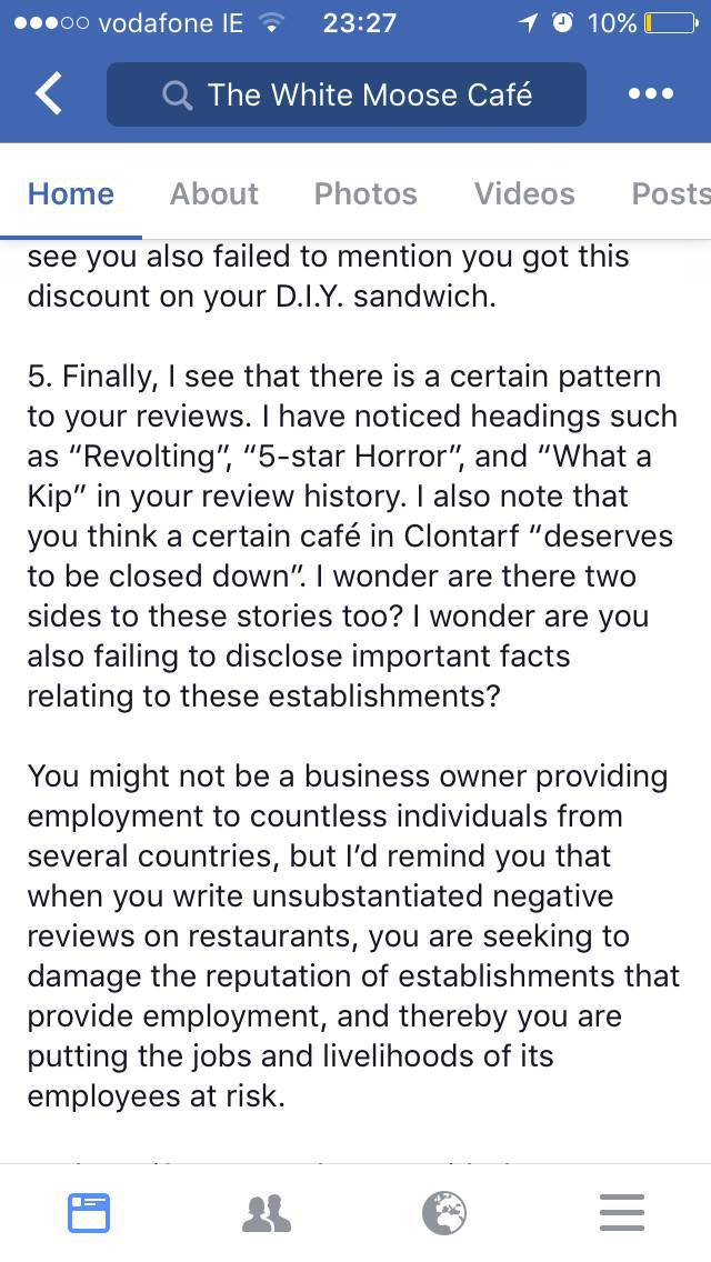 This Woman Tried To Damage Reputation Of A Restaurant, But Didn't Expect Such A Response From The Owner Himself