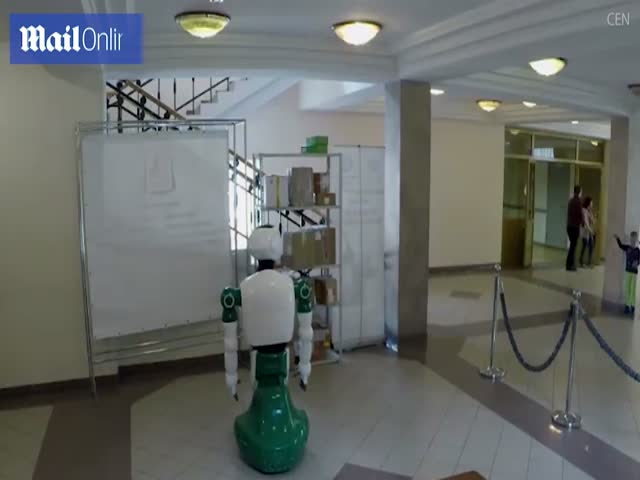 This Robot Has Just Casually Saved A Little Girl