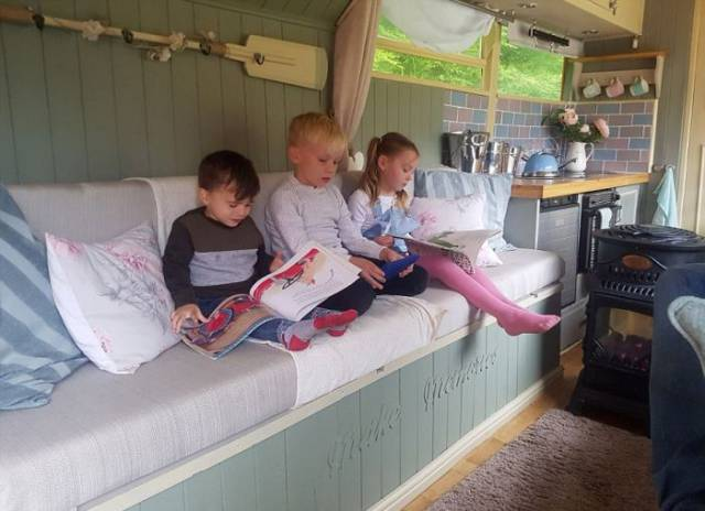 They Have Bought A Casual Bus And Turned It Into A Perfect Family Camper