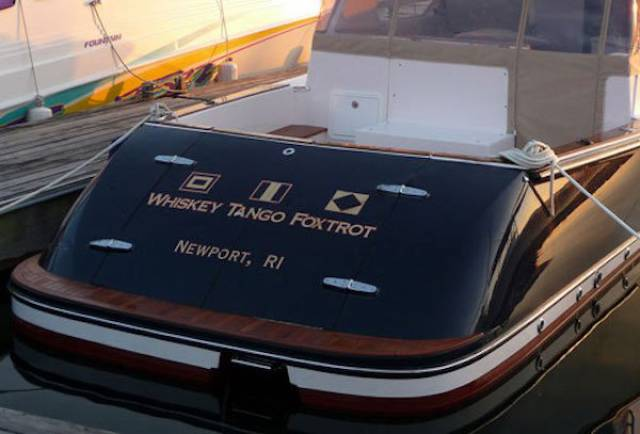 Naming A Boat Is The Hardest Part Of Owning One