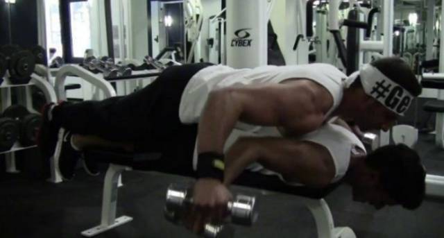 Gym Is Not For The Weak!