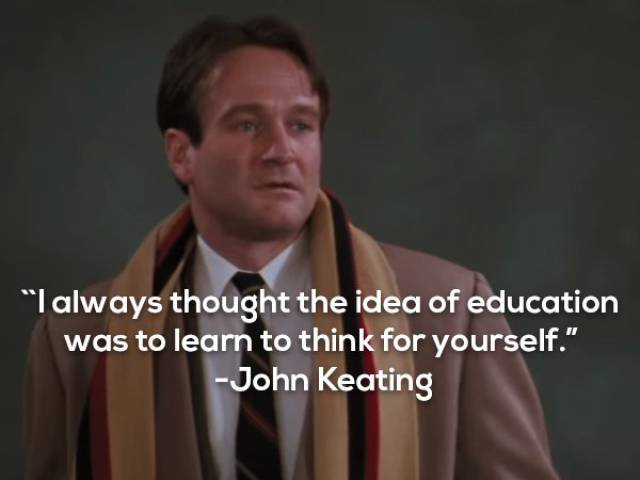 Robin Williams Had Some Wise Characters To Play, As These Quotes Prove