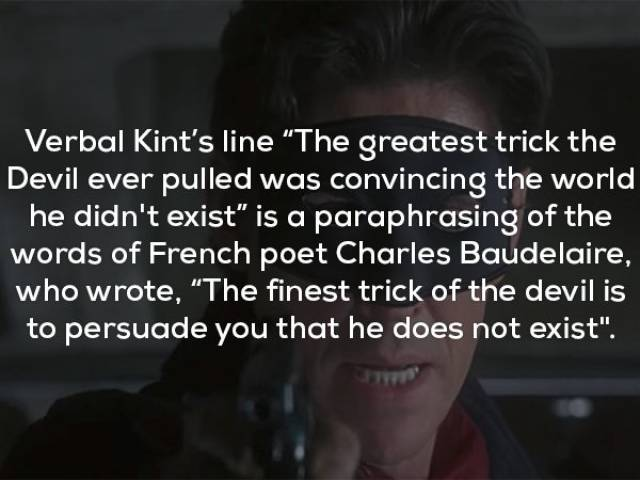 "Unusual Facts About ""The Usual Suspects"""