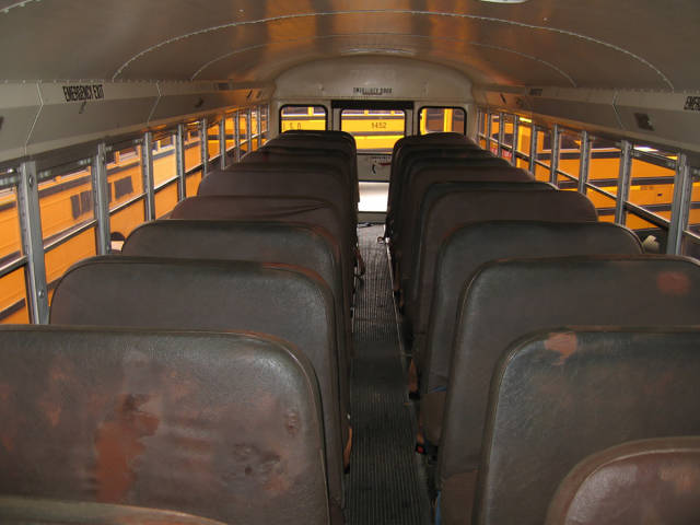 With Some Effort, You Could Live Comfortably Even In A School Bus