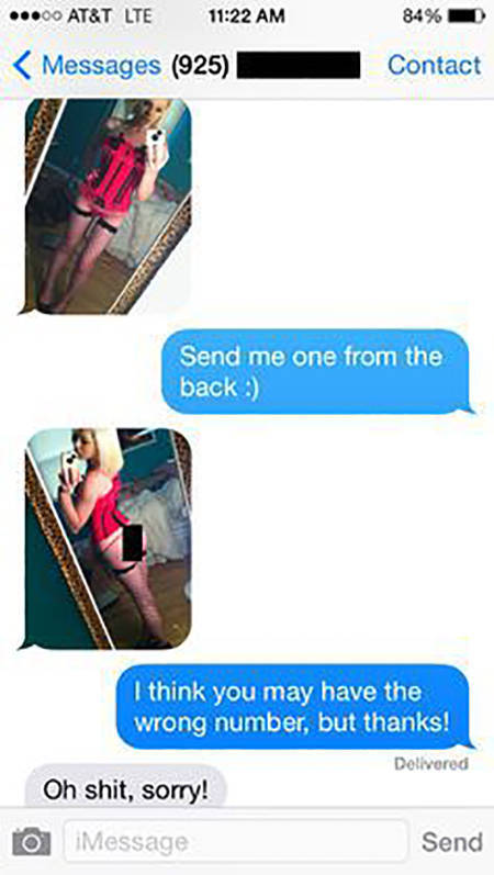 You'd Better Never Experience Sexting The Wrong Person In Your Life