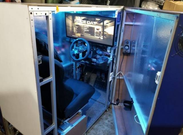 This Guy Has Created A Literal Paradise For Gamers!