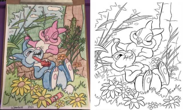This Is Why Coloring Books Are Not For Adults