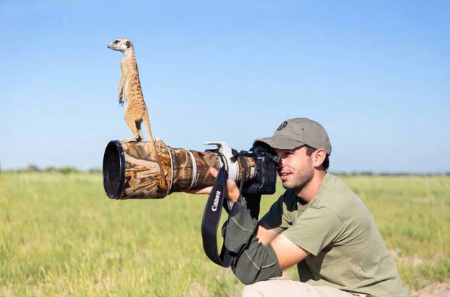 Being A Wildlife Photographer Is Basically To Become One With The Nature