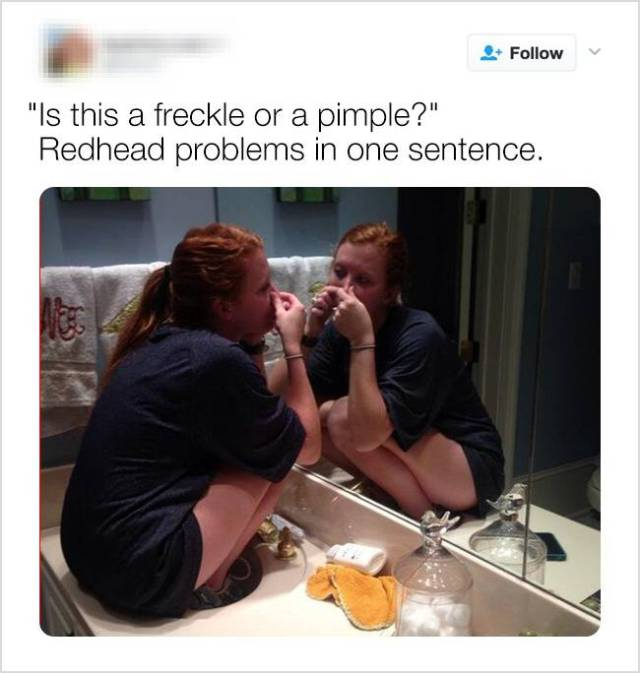 Being Redheaded Is Some Kind Of Curse… Or Blessing?