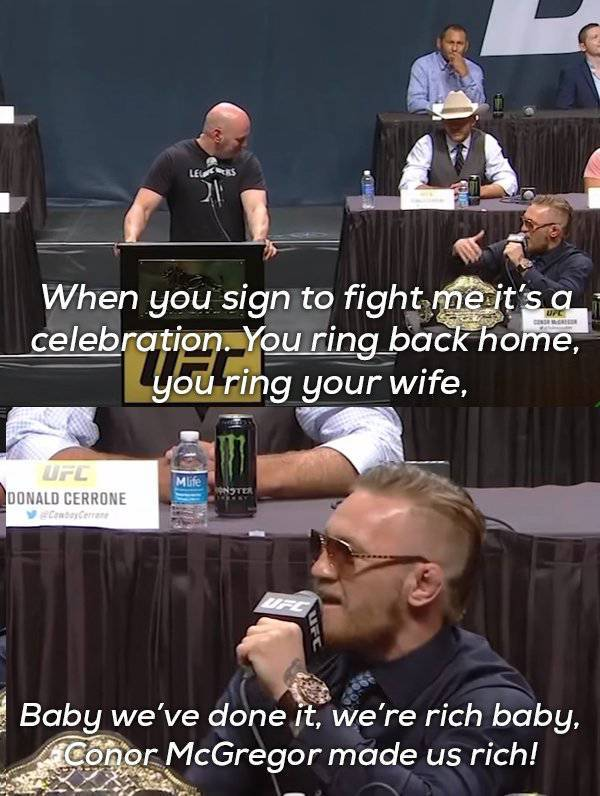 Conor McGregor Likes Winning Fights Before Even Entering The Arena