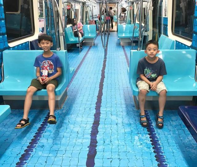 Taiwan Has Transformed Their Subway In A Very Creative Way To Get Ready For Upcoming Universiade