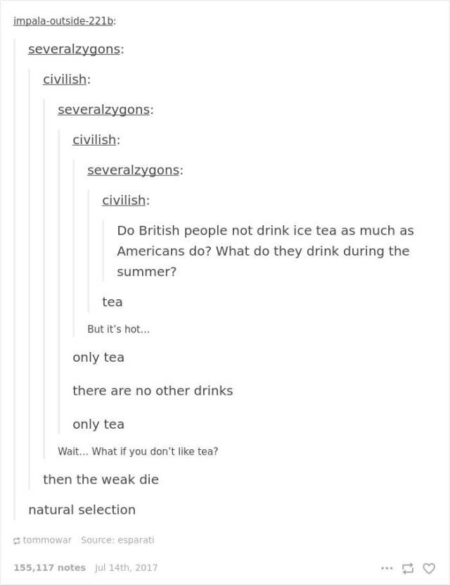 American And British Are So Similar Yet So Very Different