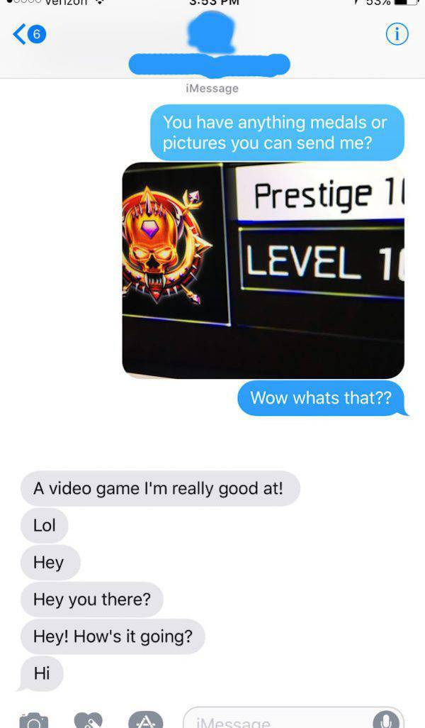 Sometimes, You Have To Know Something About Videogames. Not To Send Nudes To Wrong Guys, For Example