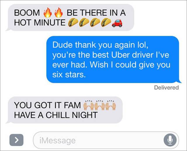 This Drunk Guy Has Found The Perfect Uber Driver!