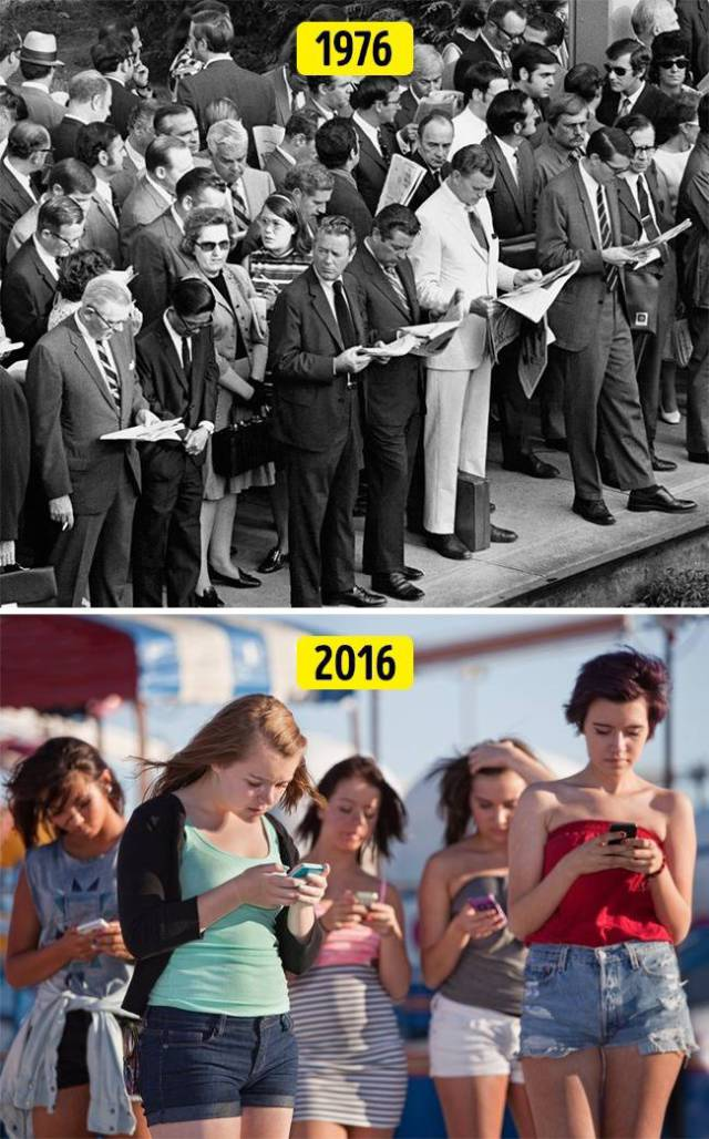 Some Things Never Change For Humans…