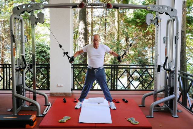 Vladimir Putin Has So Many Different Sides, As These Photos Show