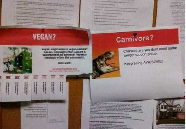 Vegans Are Always The Fresh Meat For New Memes!