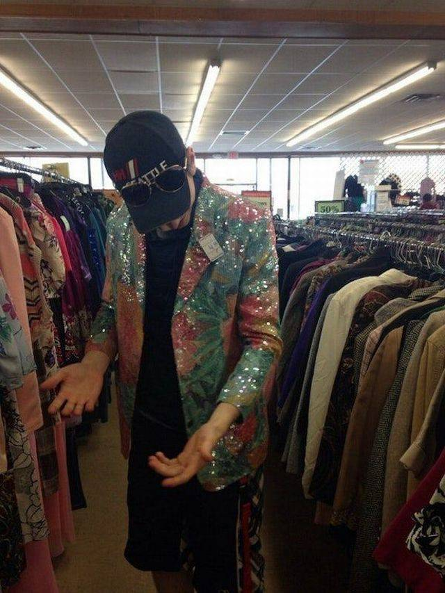 Where Do Thrift Shops Find All This Sh#t?!