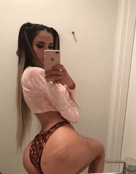 This Brazilian Model Is On A Mission For Kim Kardashian-Like Butt Or Death