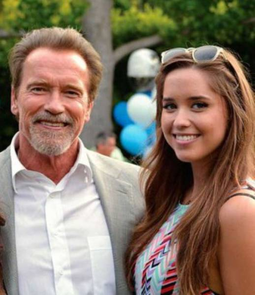 Arnold Schwarzenegger's Daughter Is Growing At A Speed Of Light!