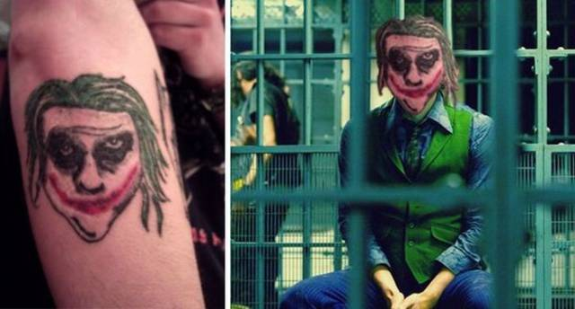 Faces Are Clearly Not The Best Choice For A Tattoo…
