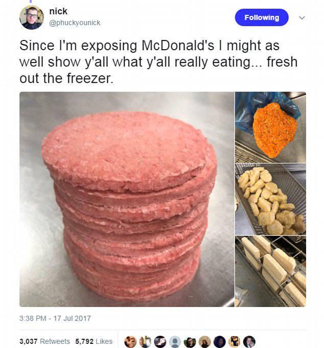 A Former McDonald
